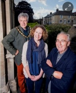Peter Macfadyen, Kate Bielby and Mel Usher of Independents for Frome