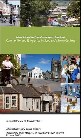 report cover scottish town centres