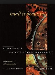 small is beautiful latest edition cover